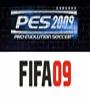 PES 2009 vs. FIFA 09